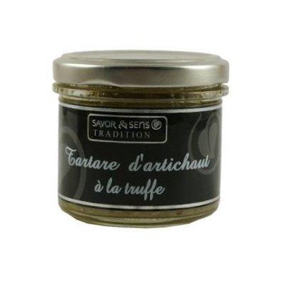Tartare d'Artichaut et Truffe - Savor et Sens -