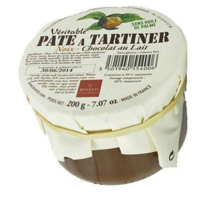 Véritable Pâte à tartiner Chocolat Lait Noix du Périgord Bovetti