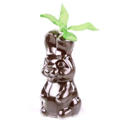 Lapin en Chocolat Lait BIO Bimbi Bovetti Pâques