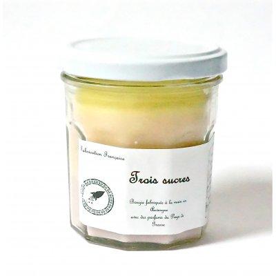 Bougie 3 Sucres BiB Artisanale Parfums de Grasse