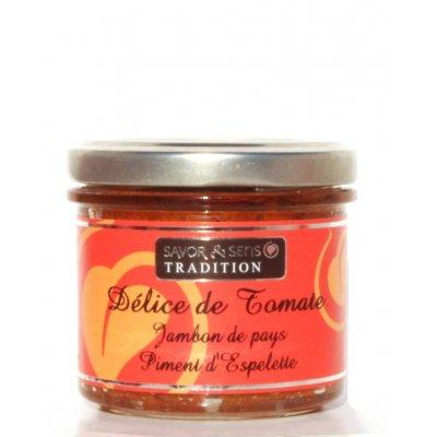 Délice de Tomate séchée, Poivron, au Piment d'Espelette - Savor et Sens -
