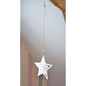 étoile métal à suspendre