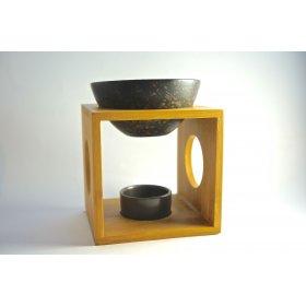Brûle-Parfum Fire Bambou - Céramique