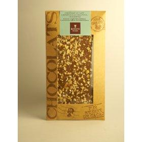 Tablette Chocolat Lait Noisettes Diététique au Maltitol Bovetti