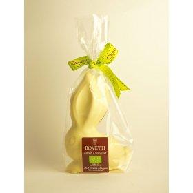 Lapin BIO  Chocolat Blanc Bovetti pâques