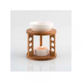 Brûle-Parfum Bambou Céramique 3 pieds