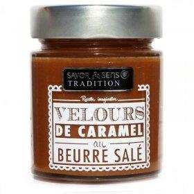 Velours de caramel au Beurre salé Savor et Sens