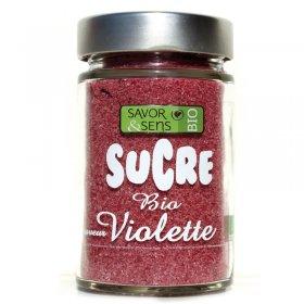 Sucre Violette Bio Savor et Sens