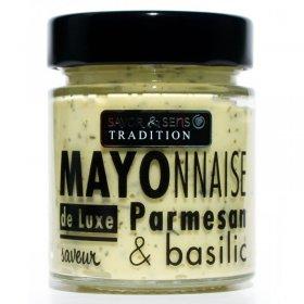 Mayonnaise Basilic Parmesan - Savor et Sens -