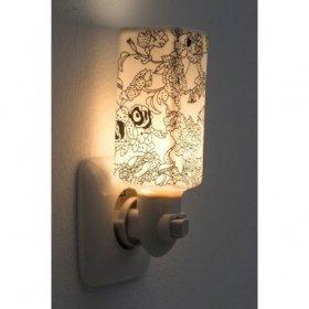 Veilleuse électrique Porcelaine Kira pour cire parfumée