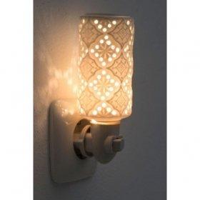 Veilleuse électrique Porcelaine Kirsty