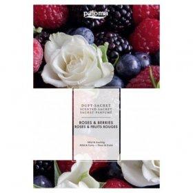 Sachet Parfumé Roses Fruits Rouges