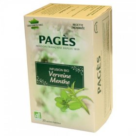 Infusion Verveine  Menthe Bio Pagès