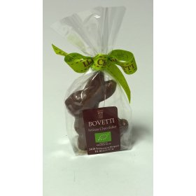 Mini Lapin BIO  Chocolat LAIT Bovetti pâques 40g