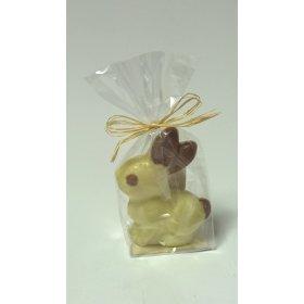 Mini Lapin BIO Chocolat BLANC Bovetti pâques 40g