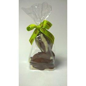 Lapin BIO Chocolat LAIT Bovetti pâques 100g Artisanal