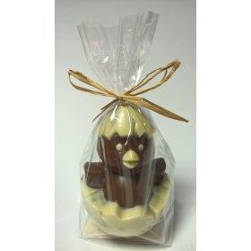 Poussin BIO Chocolat LAIT Bovetti pâques 100g Artisanal