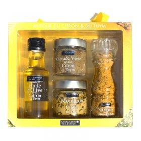 Coffret Cadeau Citron et Thym Savor et Sens Tradition