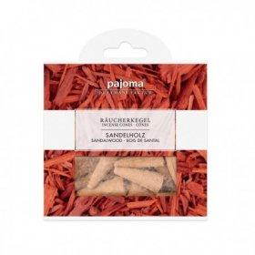 Cônes d'encens bois de santal + support métal PAJOMA
