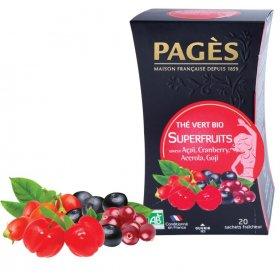 Thé Vert Superfruits BIO Pagès