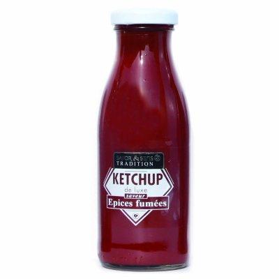 Ketchup de Luxe épices fumées Savor et Sens Tradition