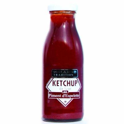 Ketchup de Luxe Piment d'Espelette Savor et Sens Tradition