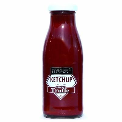 Ketchup de Luxe Saveur Truffe Savor et Sens Tradition