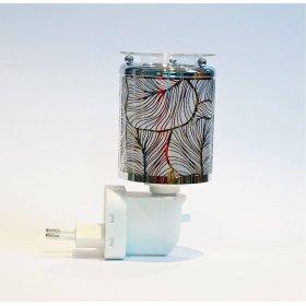 Diffuseur électrique Argent pour cire parfumée