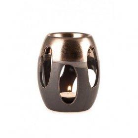Brûle-Parfum Céramique Noir