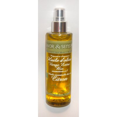 Spray Huile d'olive Basilic Citron 200ml