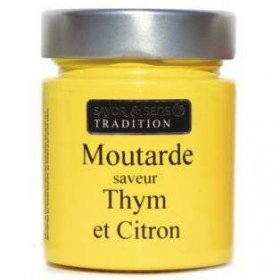 Moutarde Saveur Thym et...