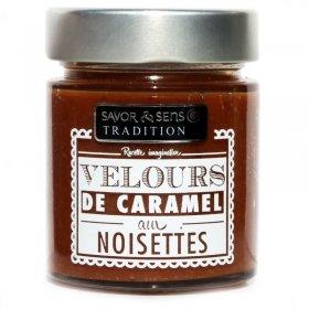 Velours de caramel Noisettes Savor et Sens