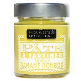 Pâte à Tartiner Banane Bonbon Savor et Sens Tradition