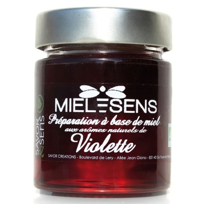 Miel Violette Bio Savor et Sens