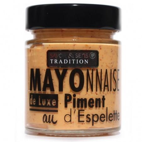 Mayonnaise Piment d'Espelette - Savor et Sens -