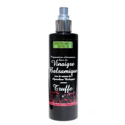 Vinaigre Balsamique arôme Truffe Spray Bio Savor et Sens