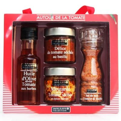 Coffret Cadeau Tomate Savor et Sens Tradition