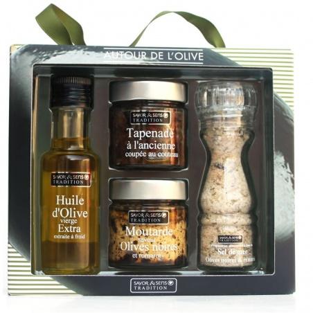 Coffret Cadeau Olive Savor et Sens Tradition