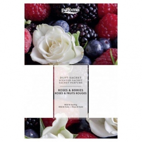 Sachet Parfumé Roses Fruits Rouges