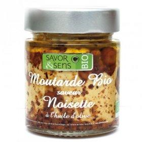 Moutarde Noisette Bio 130g - Savor et Sens -