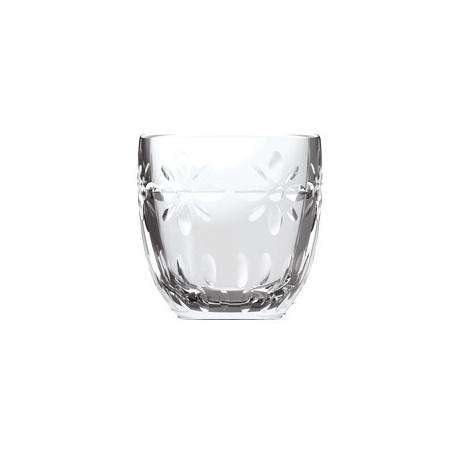 Tasse à Café TROQUET Expresso Fleurs - verre - La Rochère