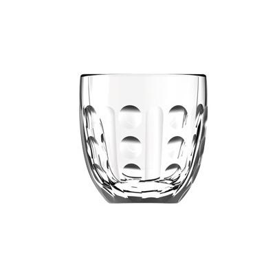 Tasse à Café TROQUET Expresso géométrique - verre - La Rochère