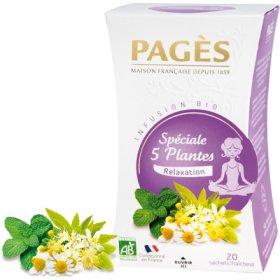 Infusion 5 Plantes Bio Pagès