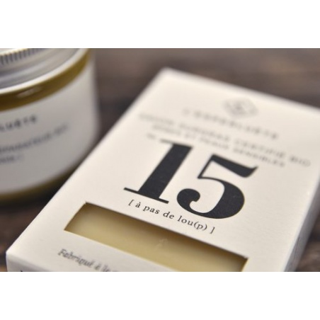 Savon A Pas de Lou(p) N°15 Surgras Certifié BIO de 100 g L'Esperluète
