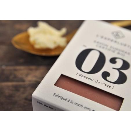 Savon Douceur de Vivre N°3 Surgras Certifié BIO de 100 g L'Esperluète