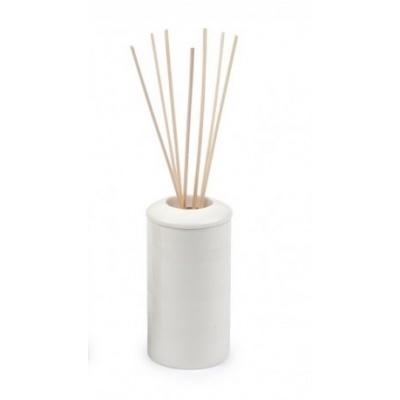 Cache-parfum d'intérieur rond blanc