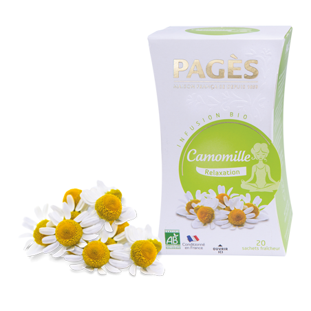 Infusion Camomille BIO Relaxation Pagès