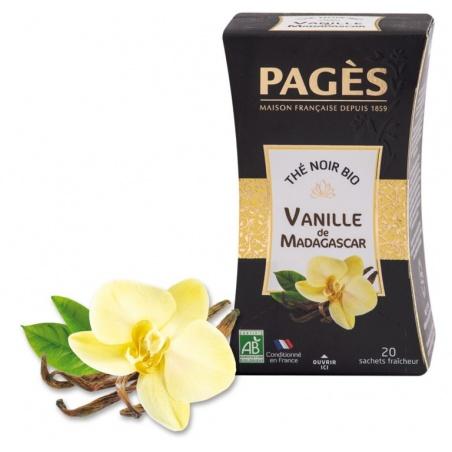 Thé BIO à la Vanille de Madagascar Pagès