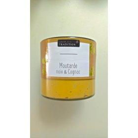 Moutarde Deluxe Noix et Cognac - Savor et Sens Tradition-