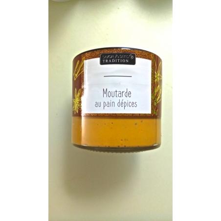 Moutarde Deluxe au Pain d'épices - Savor et Sens Tradition-
